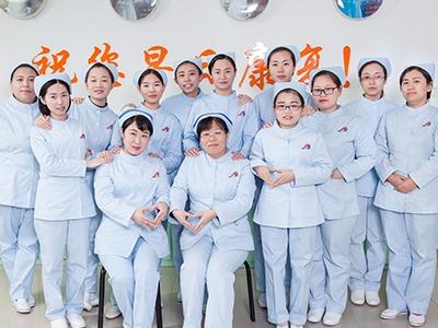 护理部护士合影